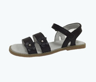 Brown Double Straps Sandal