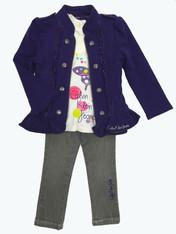 Purple Jacket 3-PC Set