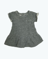 Marled Gray Pocket Dress