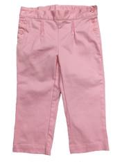 Little Girl Pastel Pink Capri Pants