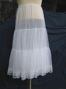 Petticoat prairie nylon/lace