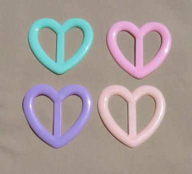 Pastel Shades tee shirt clip heart pastel shades - alamo styles