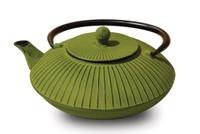 Cast Iron Green Tree Root Teapot