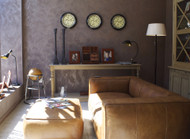 Bringing Dimension Home: Adding Textures and Metallics to Your Walls