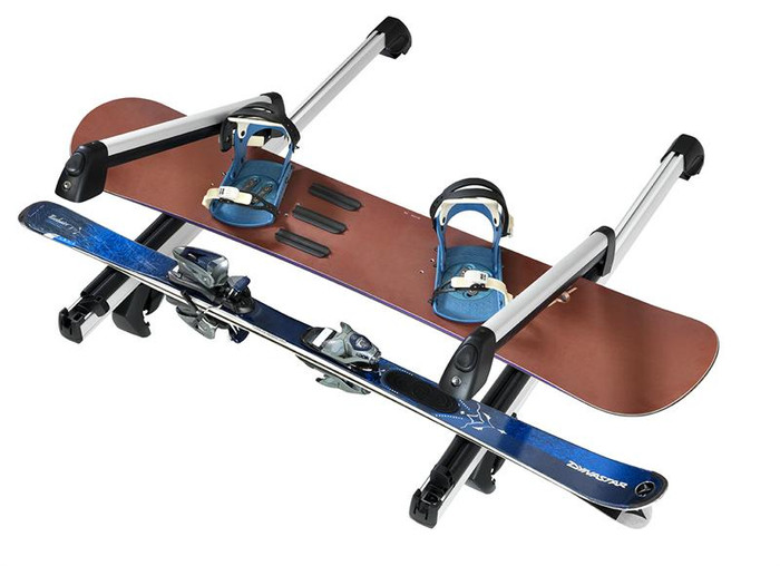 Vw Roof Rack Snowboard and Ski Carrier - Deluxe Sliding (Z006)
