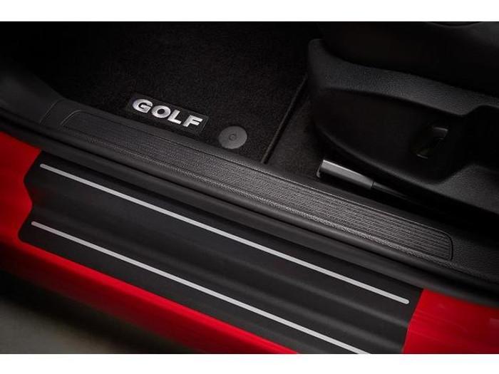 Vw Golf Black Door Sill Film (D039)