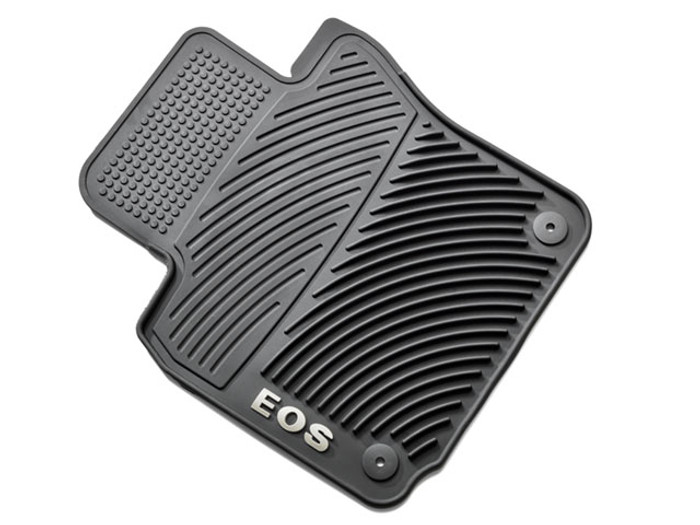 Vw Eos Rubber Floor Mats