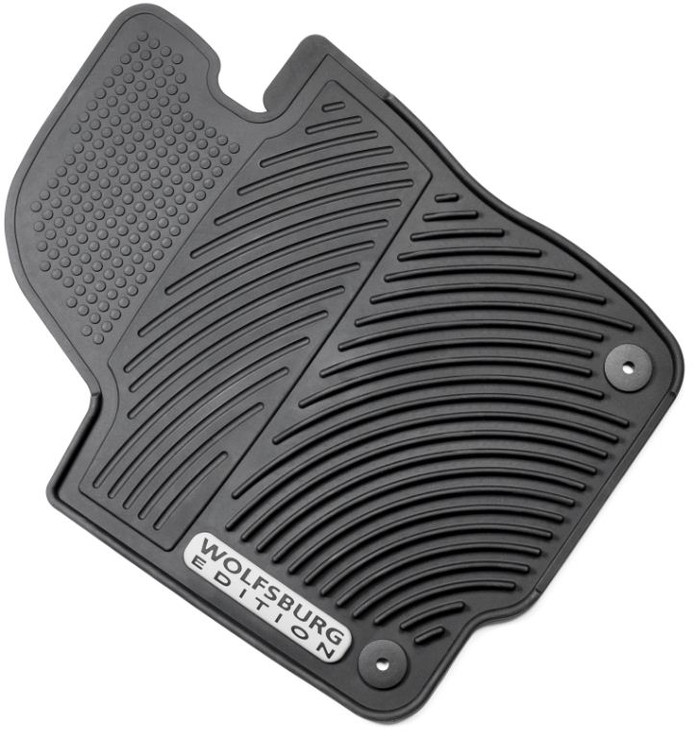 Vw Passat Rubber Monster Floor Mats Wolfsburg Edition (H005)