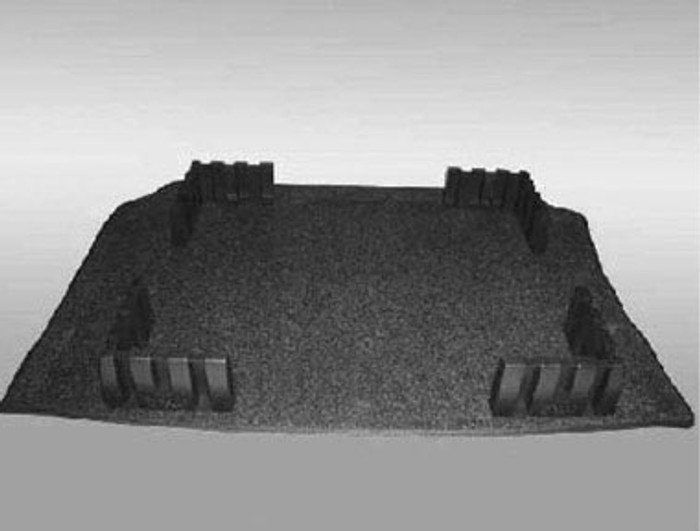 Vw Rabbit Cargo Mat (I008)