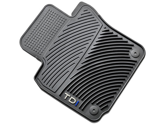 Vw Golf TDI Rubber Floor Mats (D027)