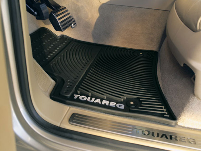 Vw Touareg Rubber Monster Floor Mats (L003)