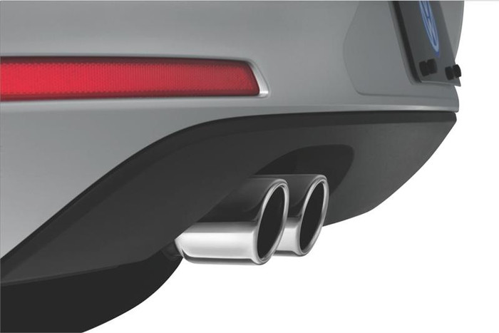 Vw Golf Stainless Steel Exhaust Tips (D009)