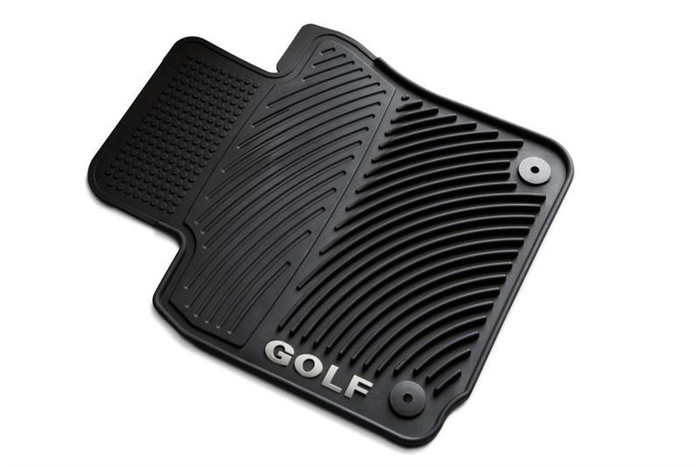 Vw Golf Rubber Floor Mats (D006)