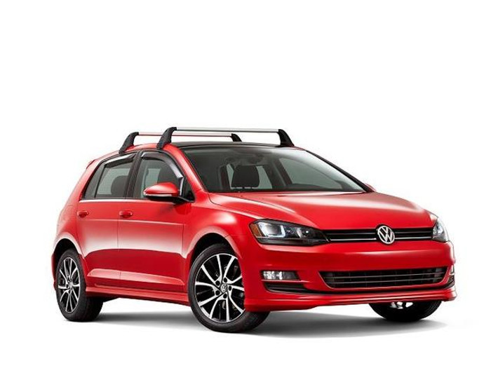 Vw Golf Roof Rack Bars (D042)