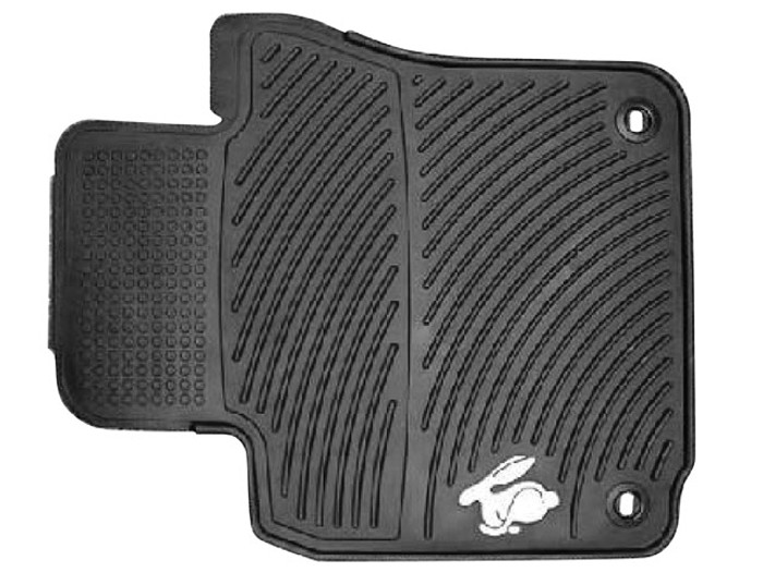 Vw Rabbit Rubber Floor Mats (I005)