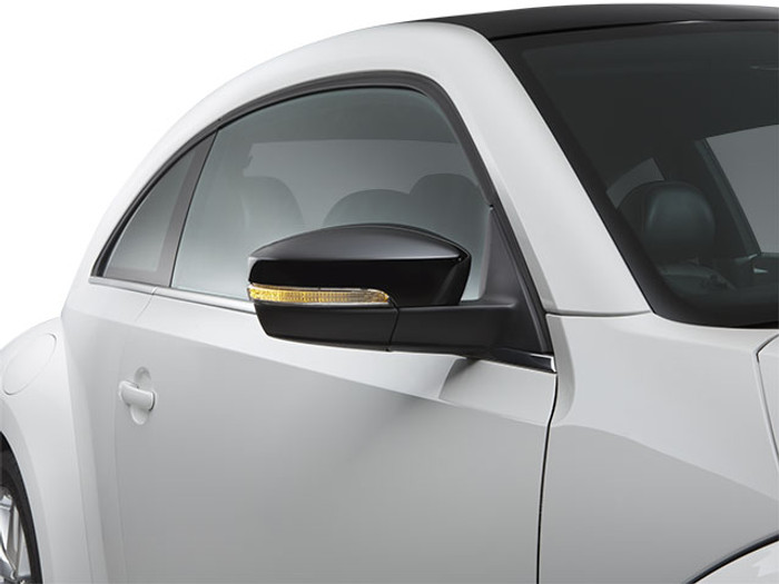 Vw Beetle Black Side Mirror Covers (A025)