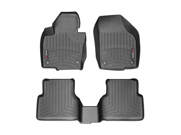 Vw Touareg WeatherTech FloorLiners - Black