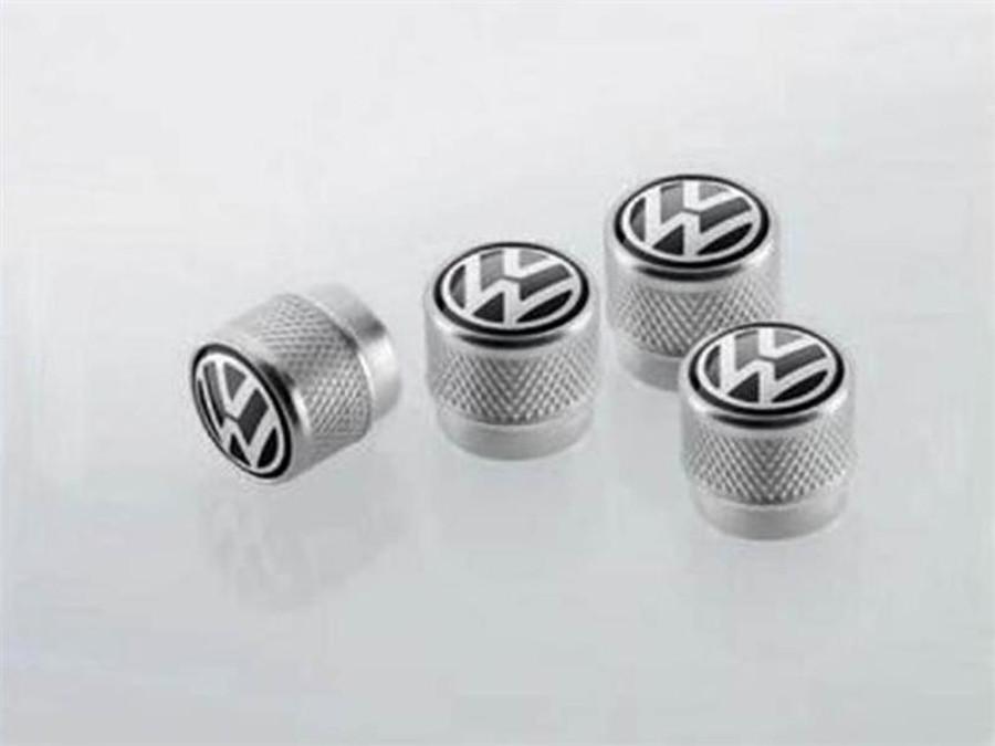 Vw Aluminum Valve Stem Caps (L027)