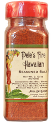 Pele's Fire Hawaiian Seasoning Salt 2.12 oz. Plastic Shaker