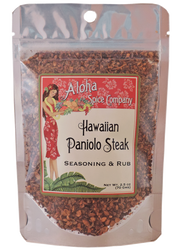 Hawaiian Paniolo Steak Seasoning & Rub 2.5 oz. Stand Up Pouch