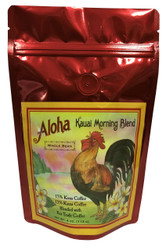 Aloha Kauai Morning Blend Whole Bean Coffee