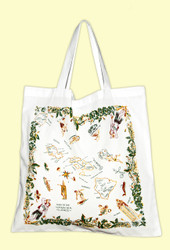 Hawaiian Islands Map Tote