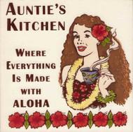 "Auntie's Kitchen 6"" Tile"