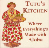 "Tutu's Kitchen 6"" Tile"