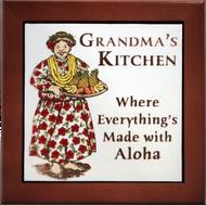 """Grandma's Kitchen 6"""" Tile Framed"""