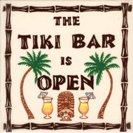 "Tiki Bar 6"" Tile"