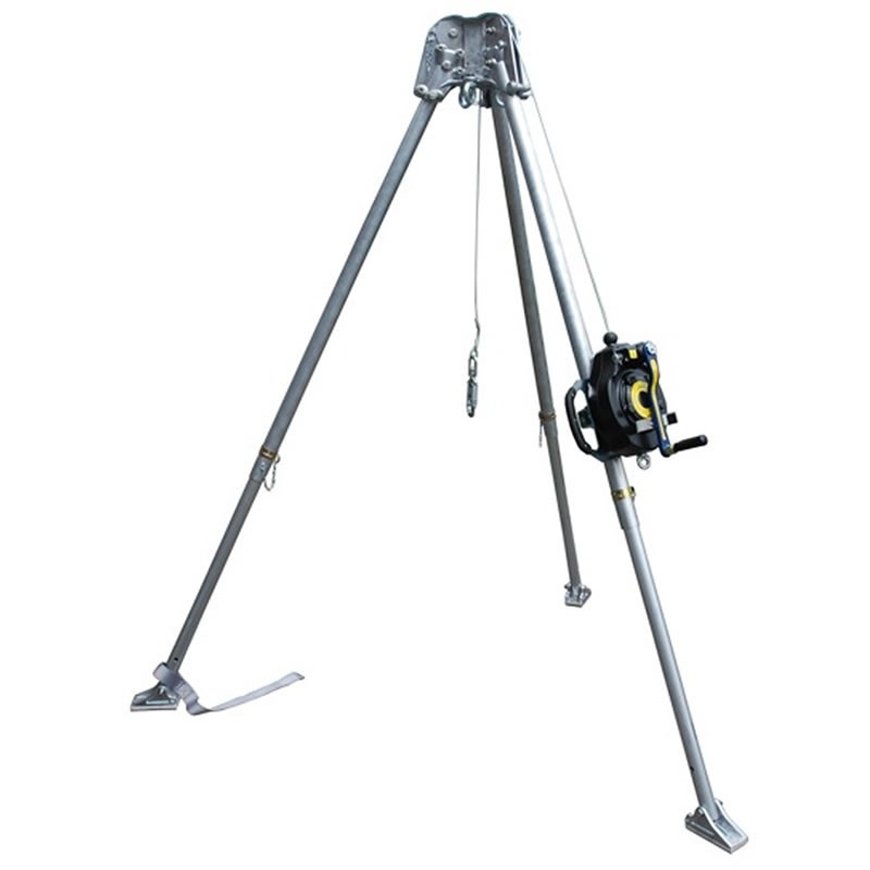 Abtech Confined Space Tripod & 15m Fall Arrest Block