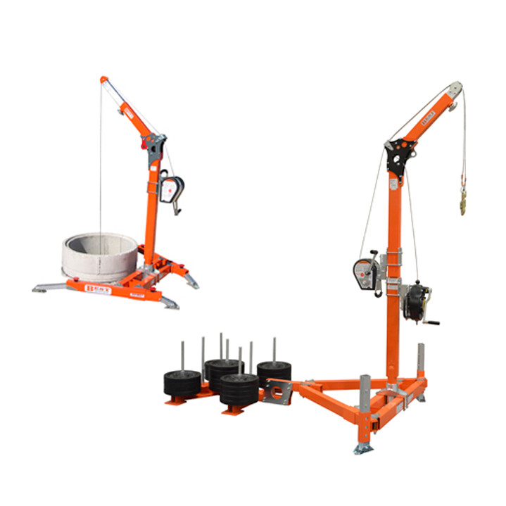 Counter Balance Davit Arm Hire Sealand Survey And Safety