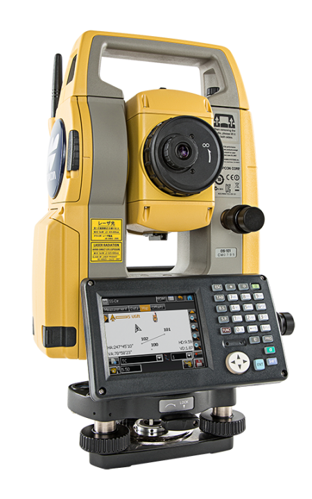 topcon os 101 1 bluetooth touchscreen total station sealand survey and safety equipment. Black Bedroom Furniture Sets. Home Design Ideas