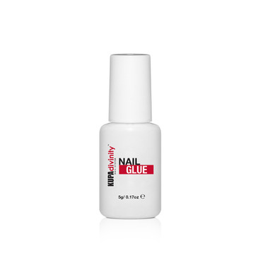 Divinity Nail System- Quick Set Nail Glue 5 gram. Brush-On Nail Glue