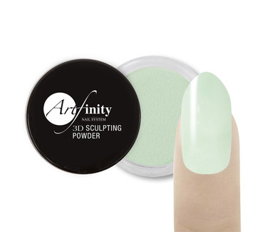 Mint Julep 1/4 oz. Colored Acrylic 3D Sculpting Powder