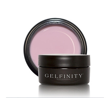 KUPA's GelFinity Structure Hard Gel BLUSH PINK Color (30mL)  - Made for the KUPA GelFinity Nail System.  Cures in UV/LED Nail Lamps.  Available in 15mL and 30mL jars.  (GEL-SBPNK-30ML)