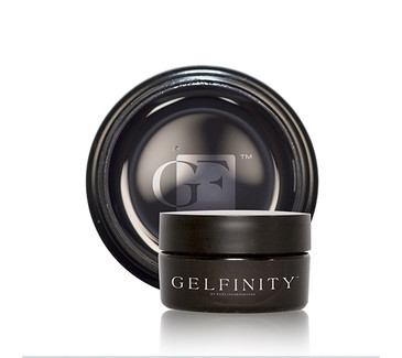 KUPA's GelFinity Structure Hard Gel - THIN CLEAR Color (15mL)  - Made for the KUPA GelFinity Nail System.  Cures in UV/LED Nail Lamps.  Available in 15mL and 30mL jars. (GEL-SCLR-15ML-T)