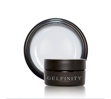 KUPA's GelFinity Structure Hard Gel - ULTRA WHITE Color (15mL)  - Made for the KUPA GelFinity Nail System.  Cures in UV/LED Nail Lamps.  Available in 15mL and 30mL jars. (GEL-SUWHT-15ML)