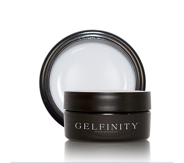 KUPA's GelFinity Structure Hard Gel - ULTRA WHITE Color (30mL)  - Made for the KUPA GelFinity Nail System.  Cures in UV/LED Nail Lamps.  Available in 15mL and 30mL jars. (GEL-SUWHT-30ML)
