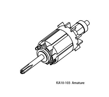 Replacement Armature for Upower UG-12 and S-UG12 handpiece.