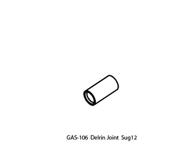 UP-GAS-106 Delrin Joint Replacement for Upower SUG12/DM12 Handpiece