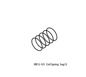 UP-KB12-101 Coil Spring Replacement for Upower SUG12 Handpiece