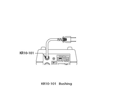 KR51-101 BUSHING Replacement for Upower Model UP200, Super UP200, and UP200V Control Box