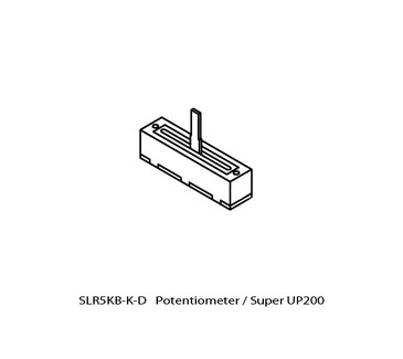 UP-PM-SLR5KB Potentiometer Speed Control Replacement for Upower Models UP200, SUPER UP200 & UP200V