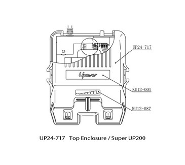 UP24-717 Top Enclosure Super UP200
