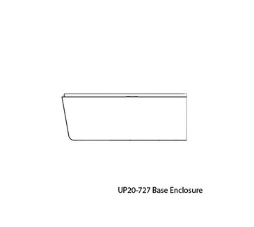 UP20-727 Base Enclosure Replacement for Upower UP200 Control Box