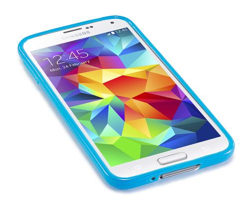 """SimplySAFE"" Ultra Slim Flexible Case for Samsung Galaxy S5 - by Devicewear"