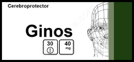 GINOS®, (aka Ginkgo Bilobae Extract) 30pills/pack, 40mg/pill