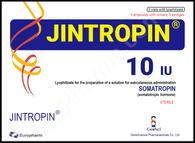 JINTROPIN®, 5 ampuls/pack, 10IU/ampul, 50IU ready-to-use kit