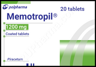 MEMOTROPIL®, (aka Piracetam) 20pills/pack, 1200mg/pill